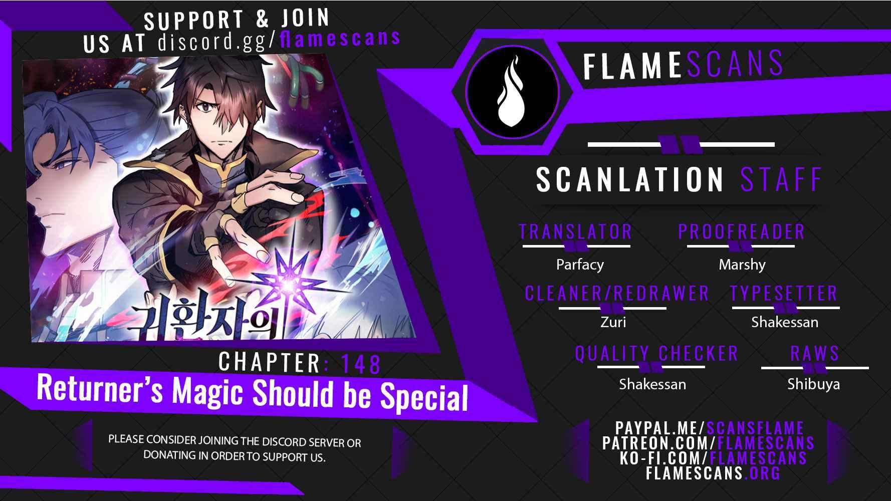 A Returner's Magic Should Be Special - chapter 148-eng-li
