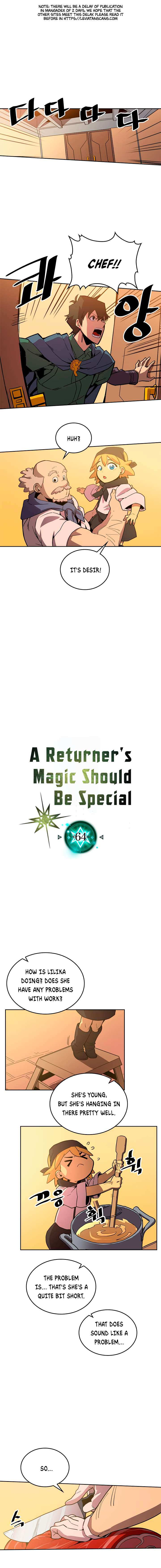 A Returner's Magic Should Be Special - chapter 64-eng-li
