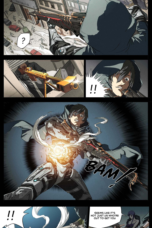 Blood Strike: Death God's Game - chapter 1-eng-li