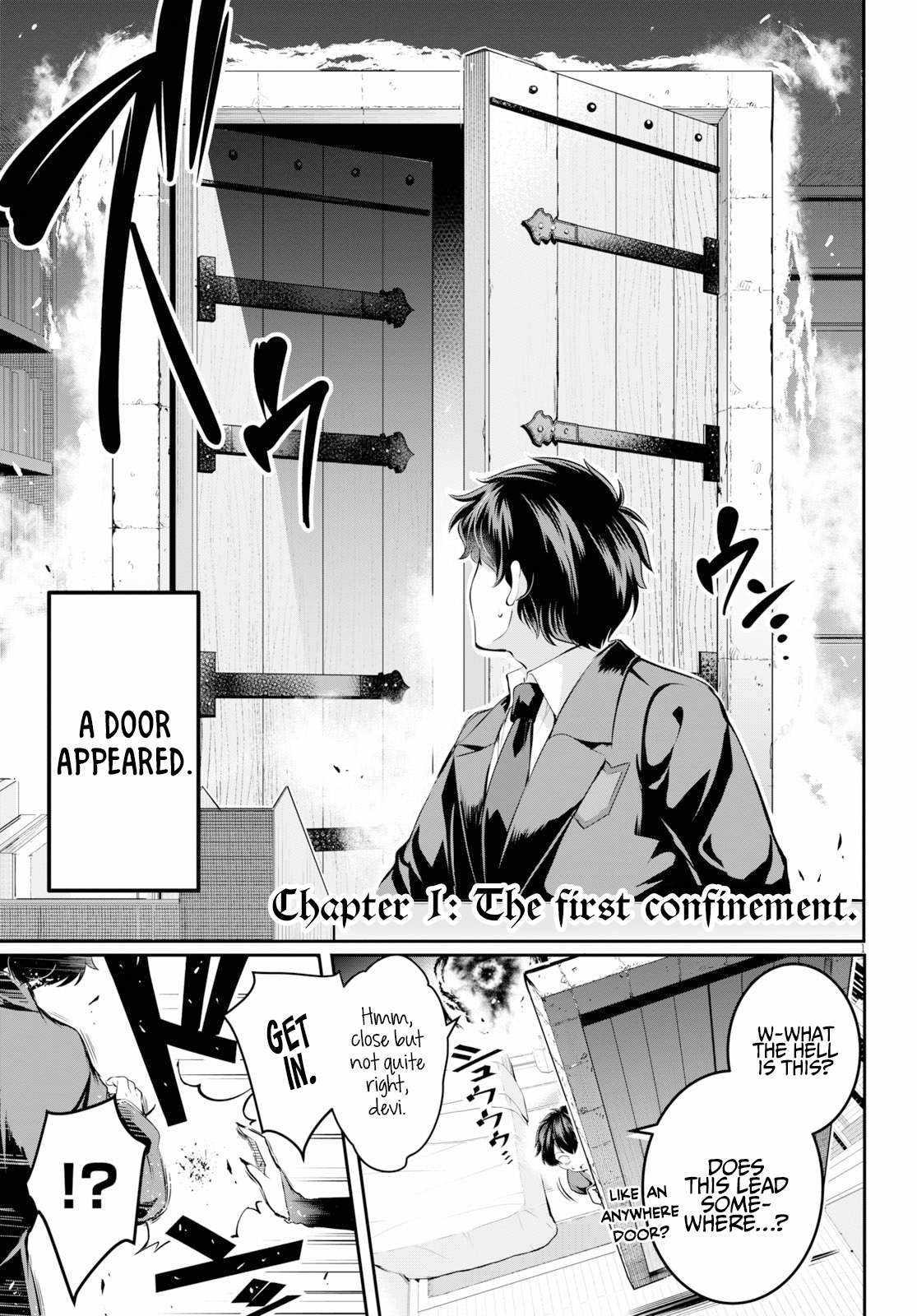 Confinement King - chapter 1-eng-li
