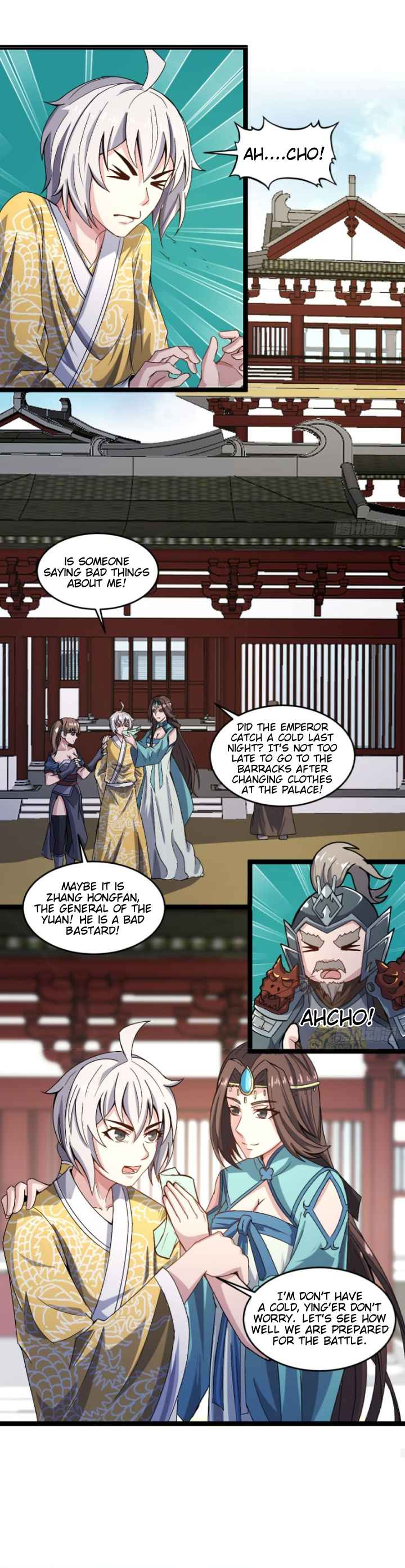 Reborn As An Emperor - chapter 27-eng-li