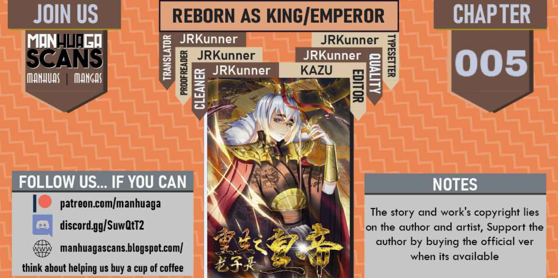 Reborn As An Emperor - chapter 5-eng-li