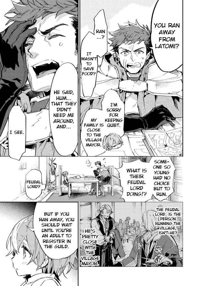 Saijaku Tamer wa Gomi Hiroi no Tabi o Hajimemashita. - chapter 9-1-eng-li