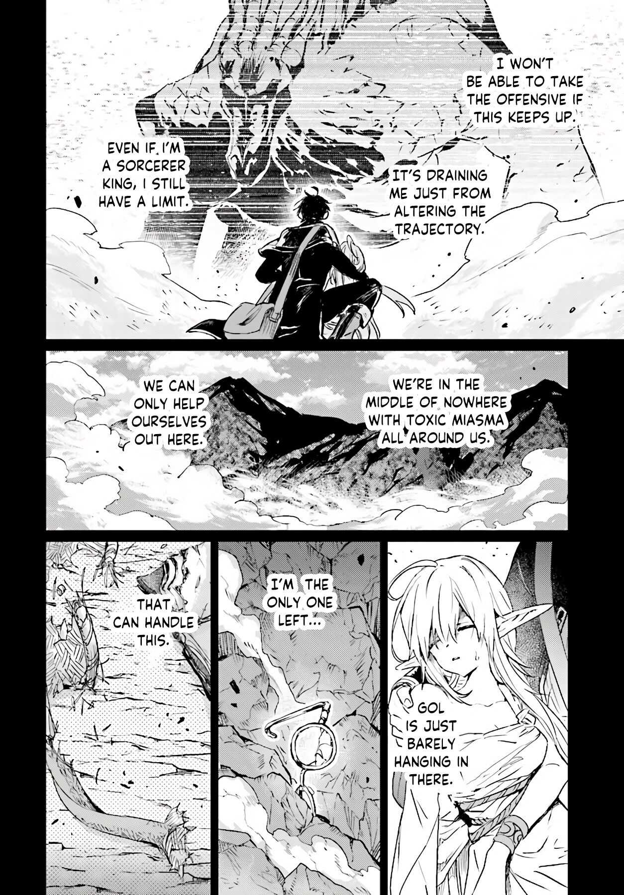 The Sorcerer King of Destruction and the Golem of the Barbarian Queen - chapter 11.2-eng-li